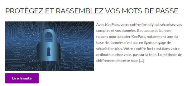 <strong>Cyber-sécurité</strong> <em></em><br  /></p><p>